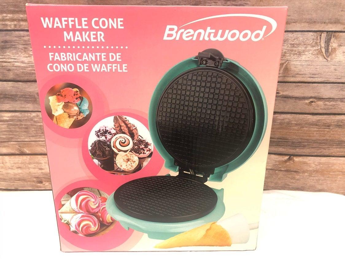 Brentwood TS-1405BL Kitchen Blue Waffle