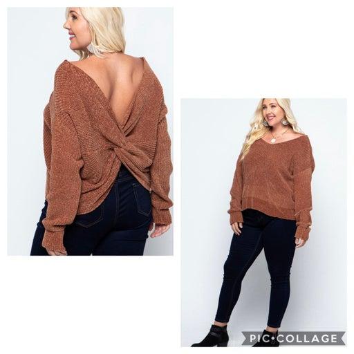 Plus Size Sweater 1X 2X
