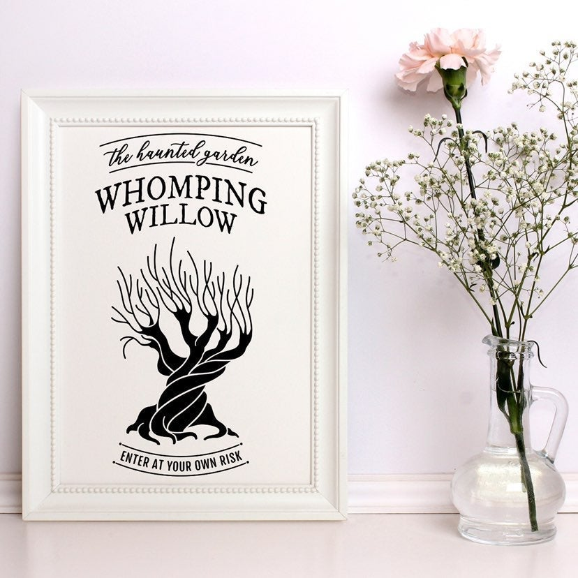 The Whomping Willow Canvas Wall Art