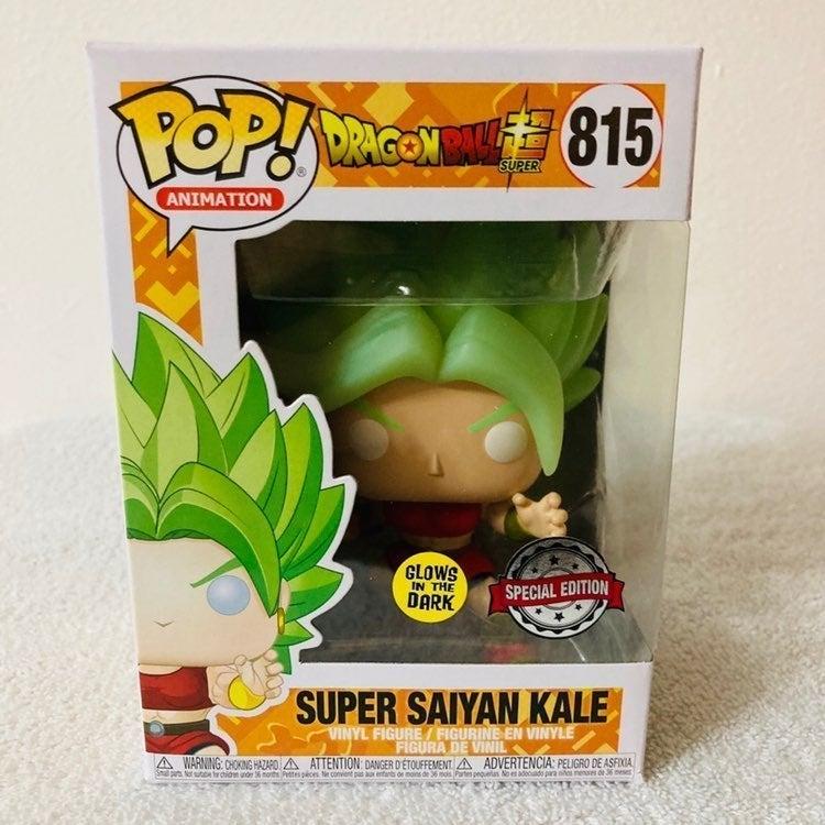 Funko Pop Super Saiyan Kale (Glow) #815