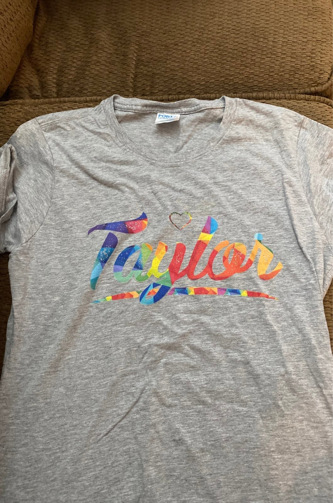 Taylor Swift rainbow shirt