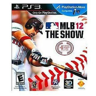 PS3 MLB 12 Baseball The Show NEW in Case