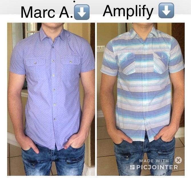 Mens S Marc Anthony+ Shirt,Short Sleeve