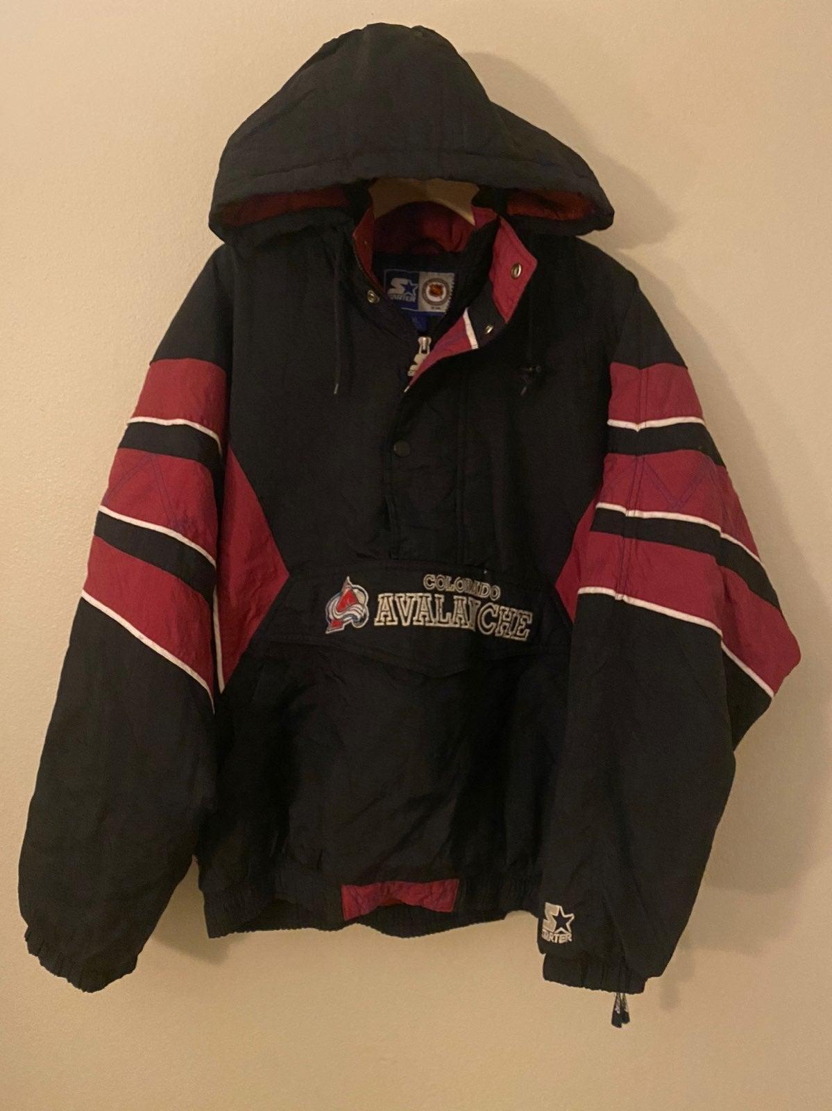Vintage Colorado Avalanche NHL starter j