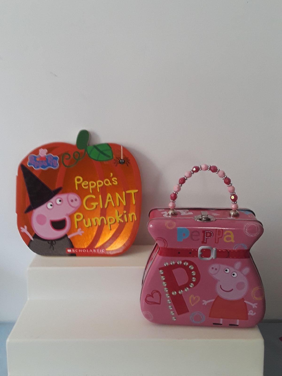 Peppa Pig giant pumpkin Book & Metal pur