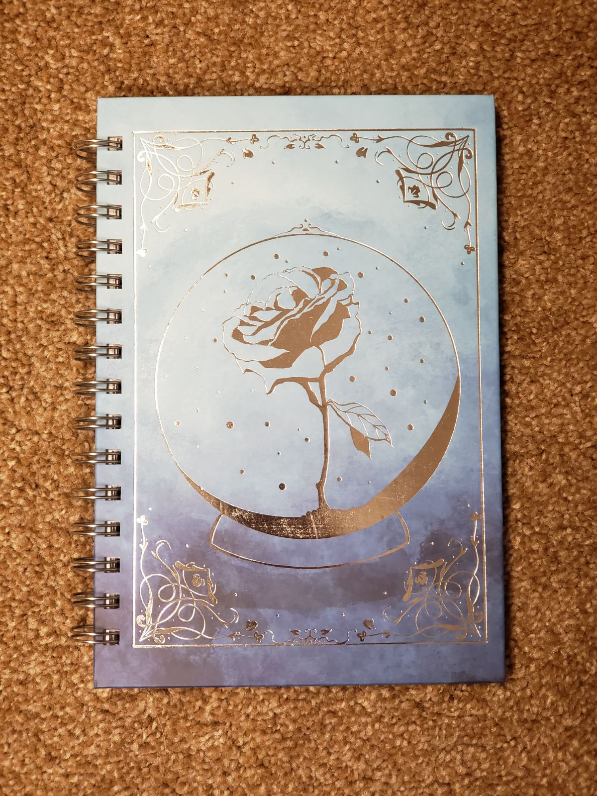 Fairyloot March Wintersong notebook