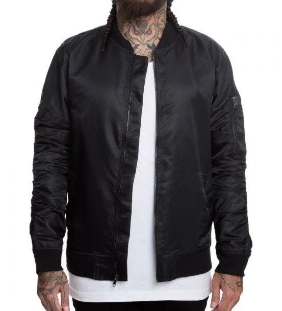 Elwood Nylon Bomber Jacket