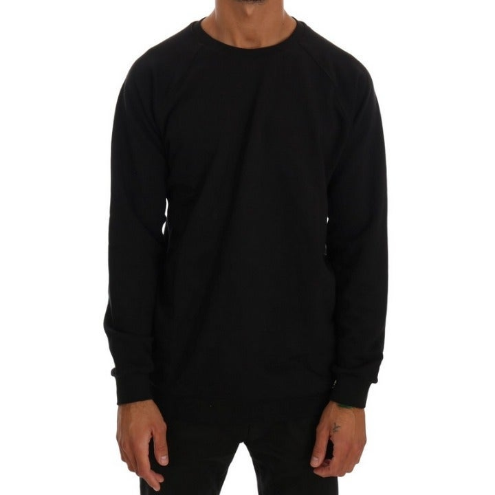 DANIELE ALESSANDRINI BLACK SWEATER