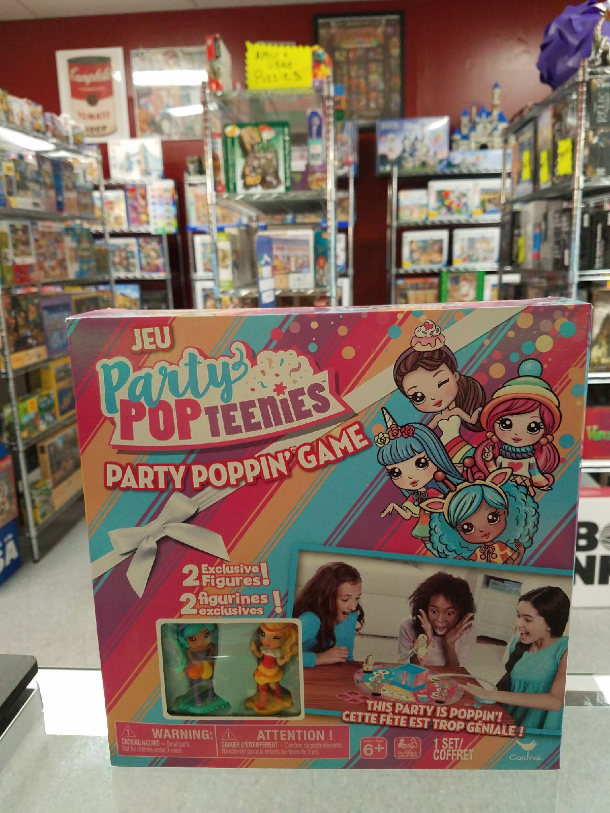 Party Popteenies game