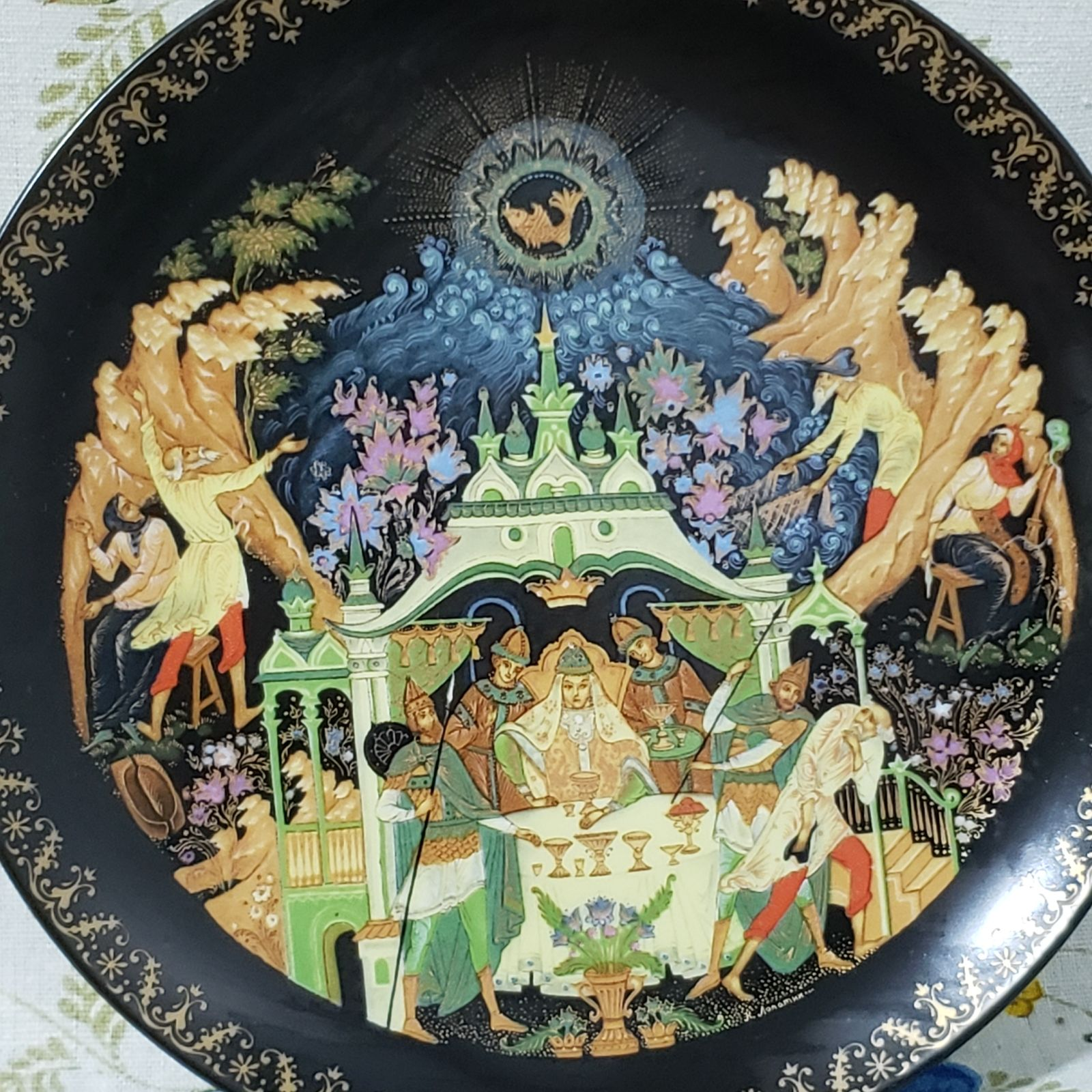 Russian Legends Collector Plate
