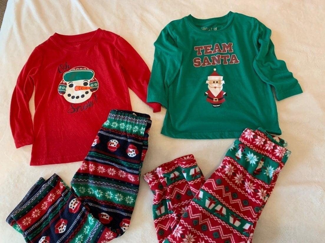 Matching Christmas Pajamas 3T