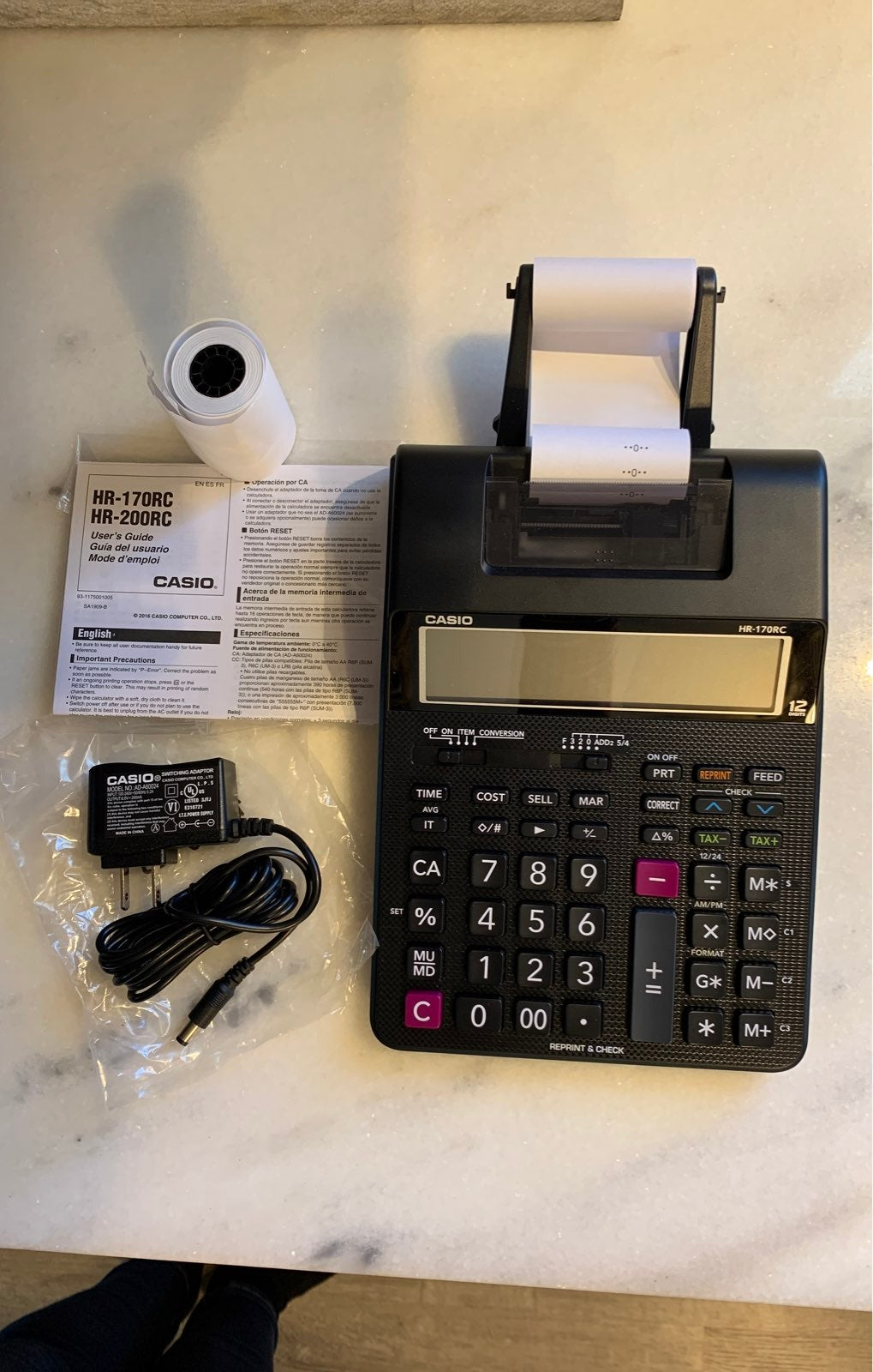 Casio Calculator/Adding Machine