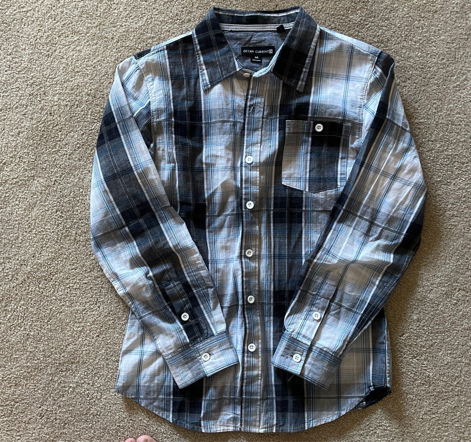 Ocean Current button down shirt