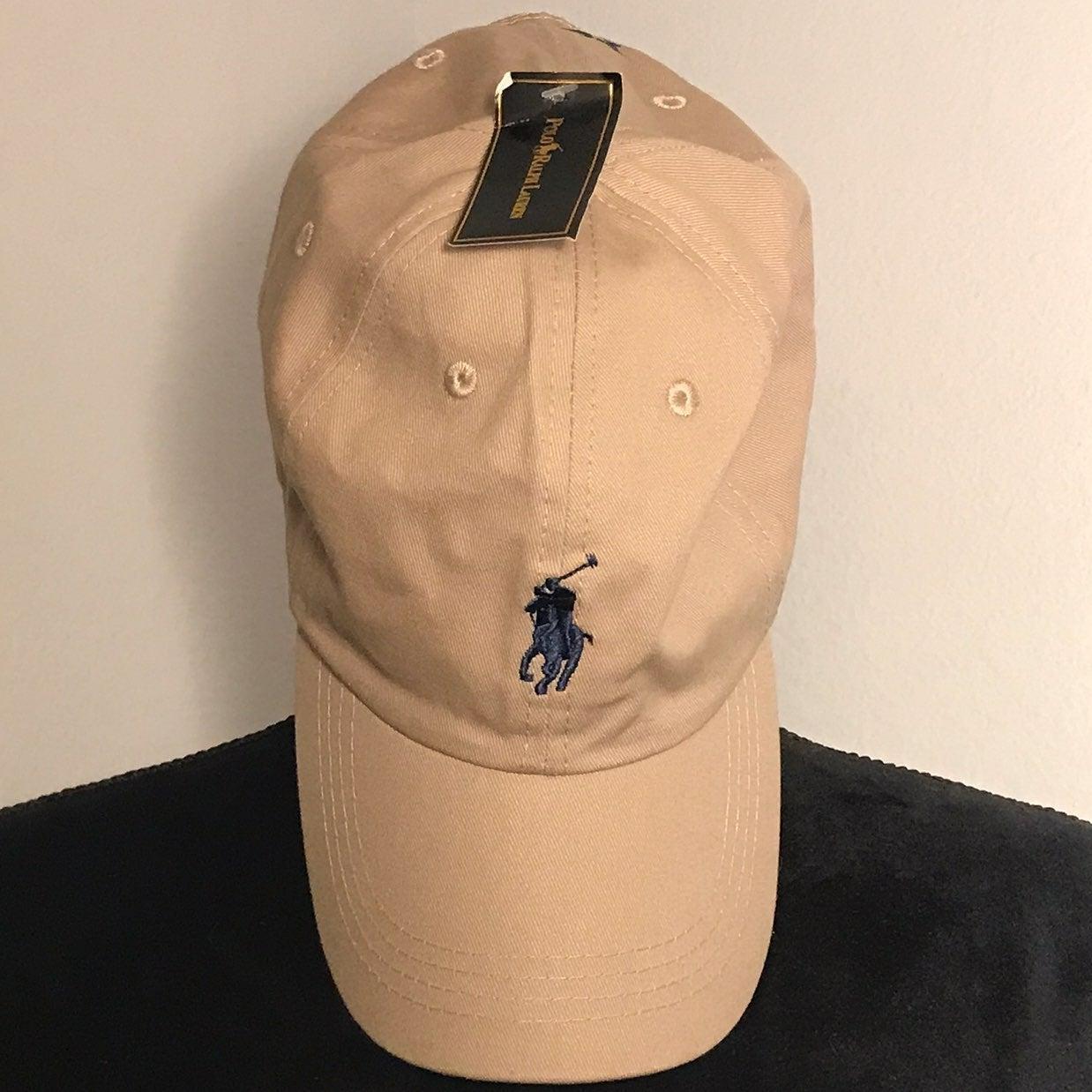 Polo Beige Hat Adjustable