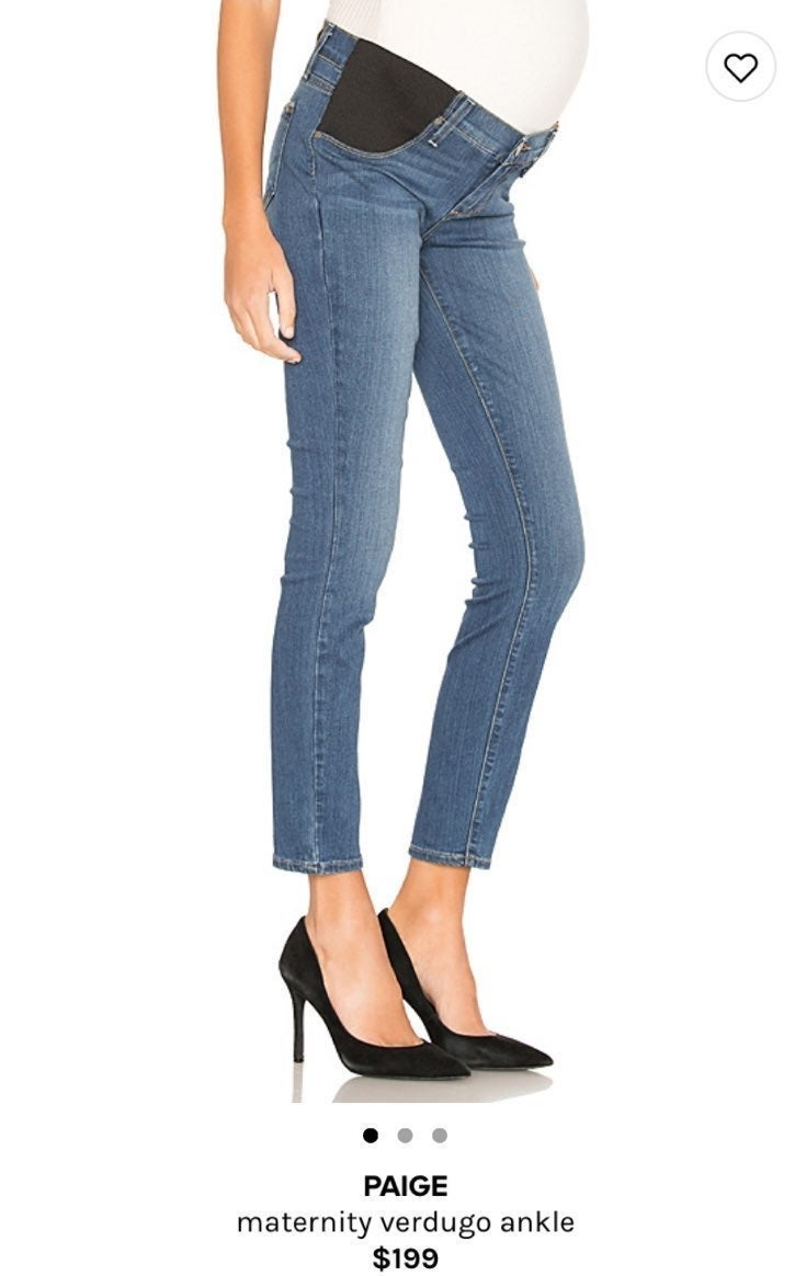 Paige Maternity Verdugo Ankle Jeans 27