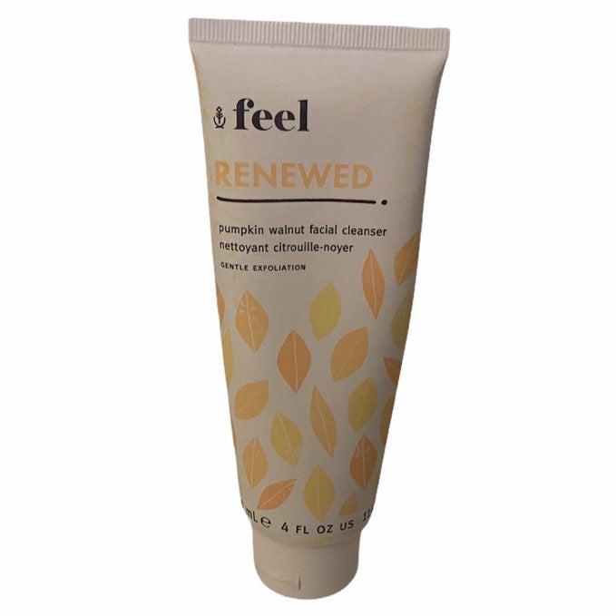 Feel Pumpkin Walnut Facial Cleanser NEW