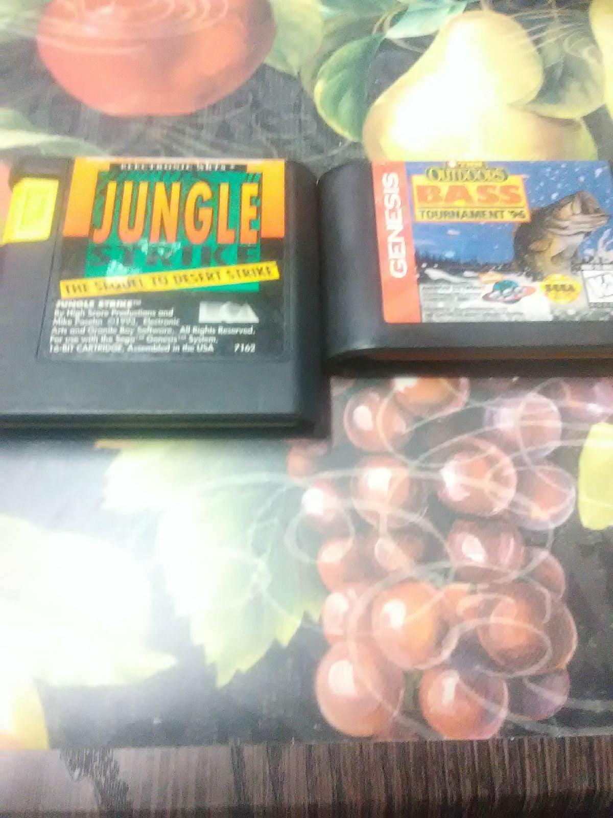 Lot Of 2 Sega Genesis Games