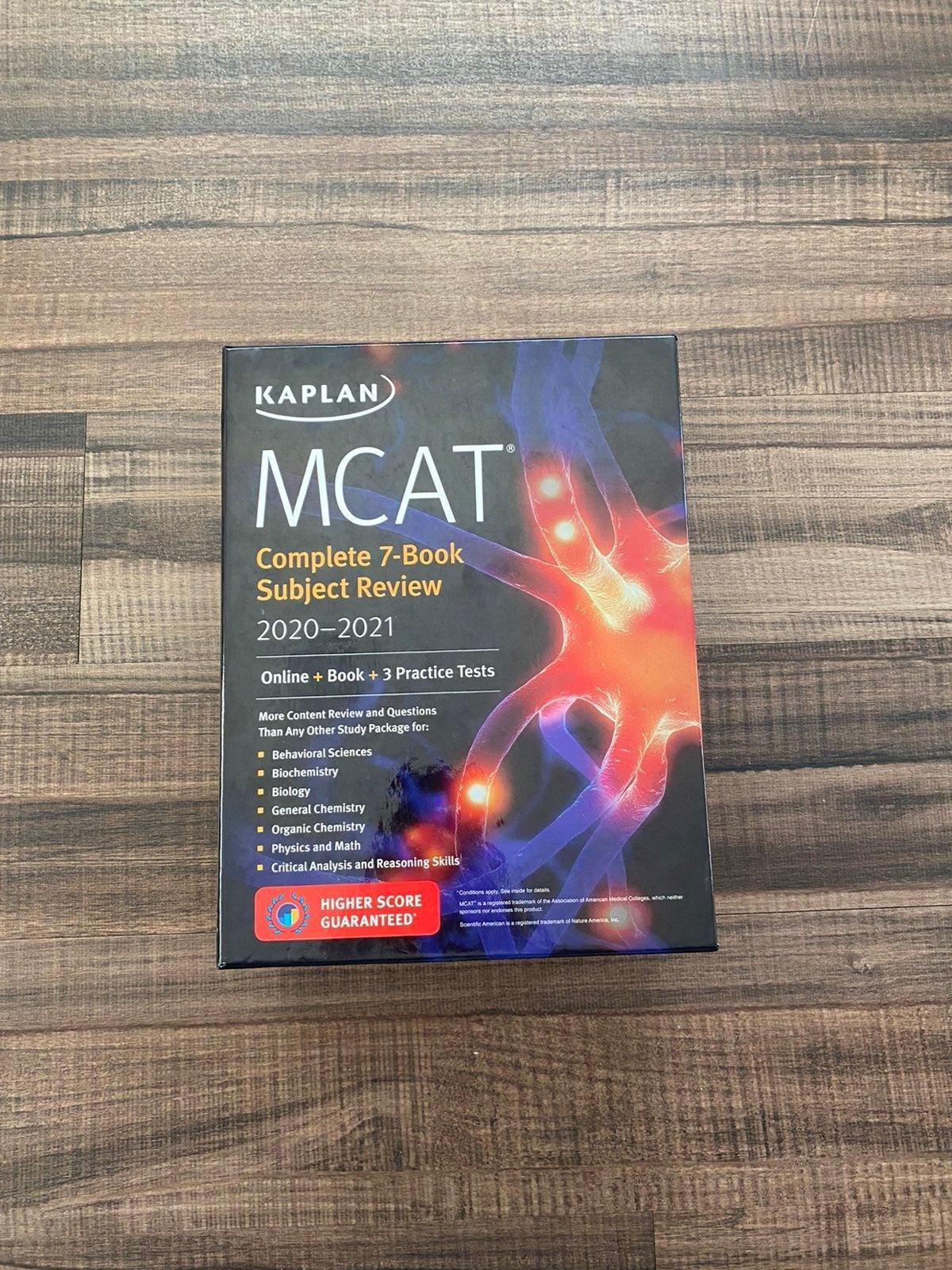 Kaplan MCAT books 2020/2021