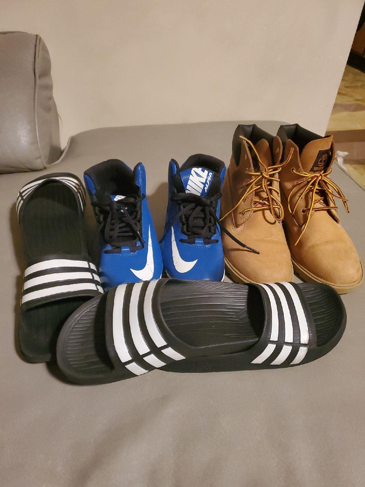 Bundle Timberland  end Nike Size 5.5 boy