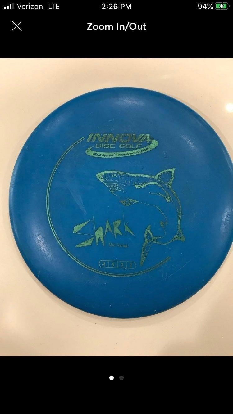Innova disc golf shark mid-range