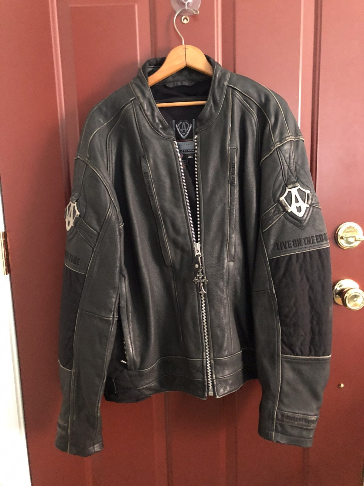 Authentic ARLEN NESS Motorcycle Jacket