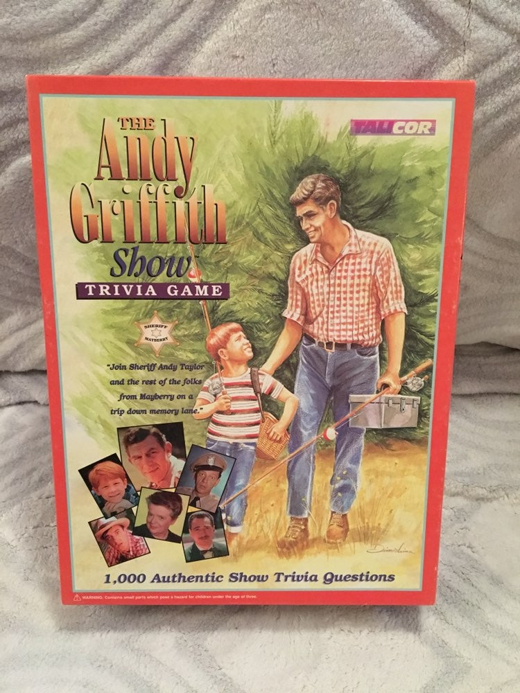 1998 The Andy Griffith Show Trivia Game.