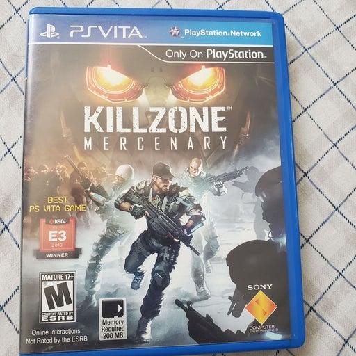 Killzone Mercenary on Sony PS
