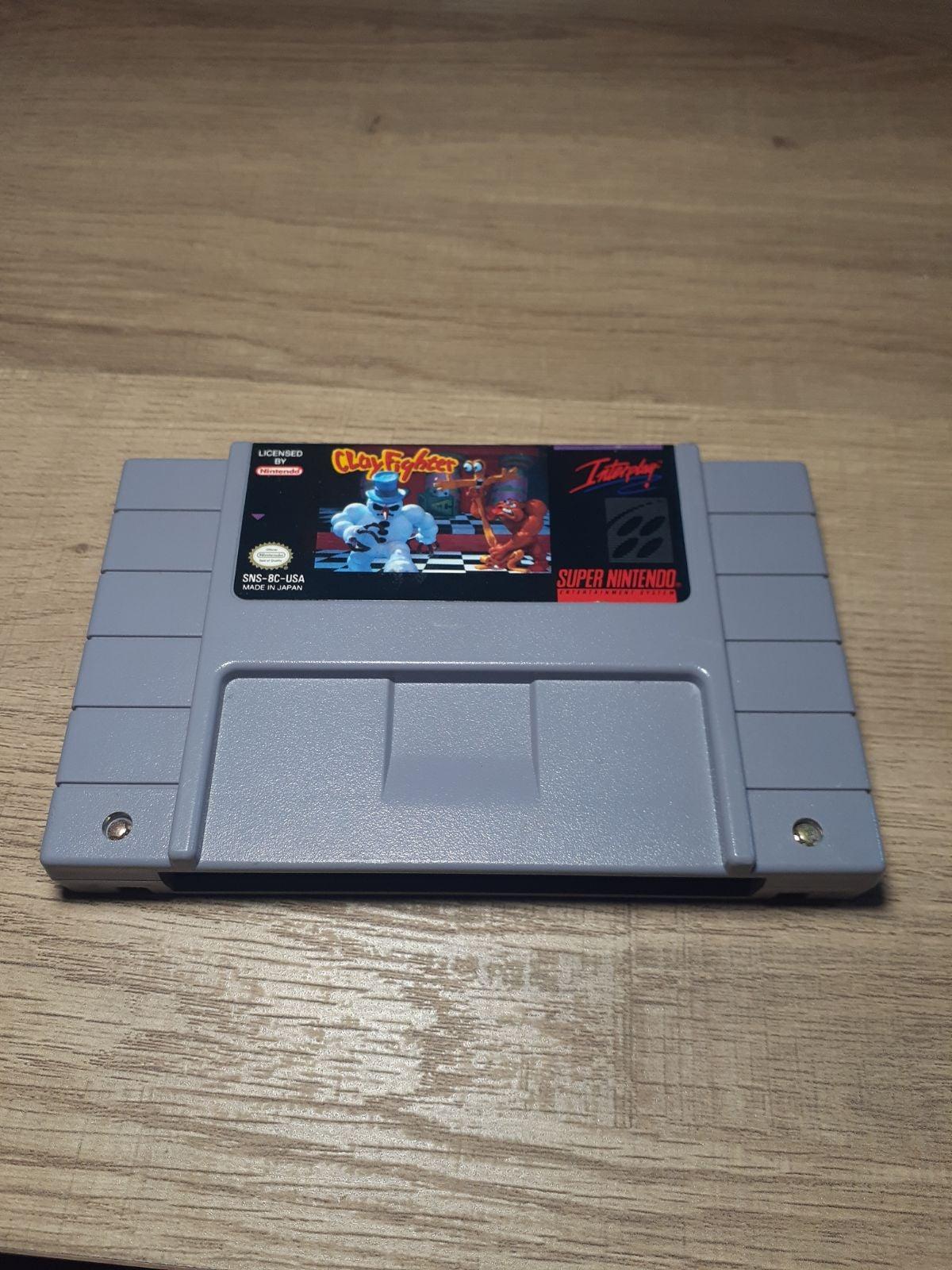 ClayFighter on Nintendo Super NES