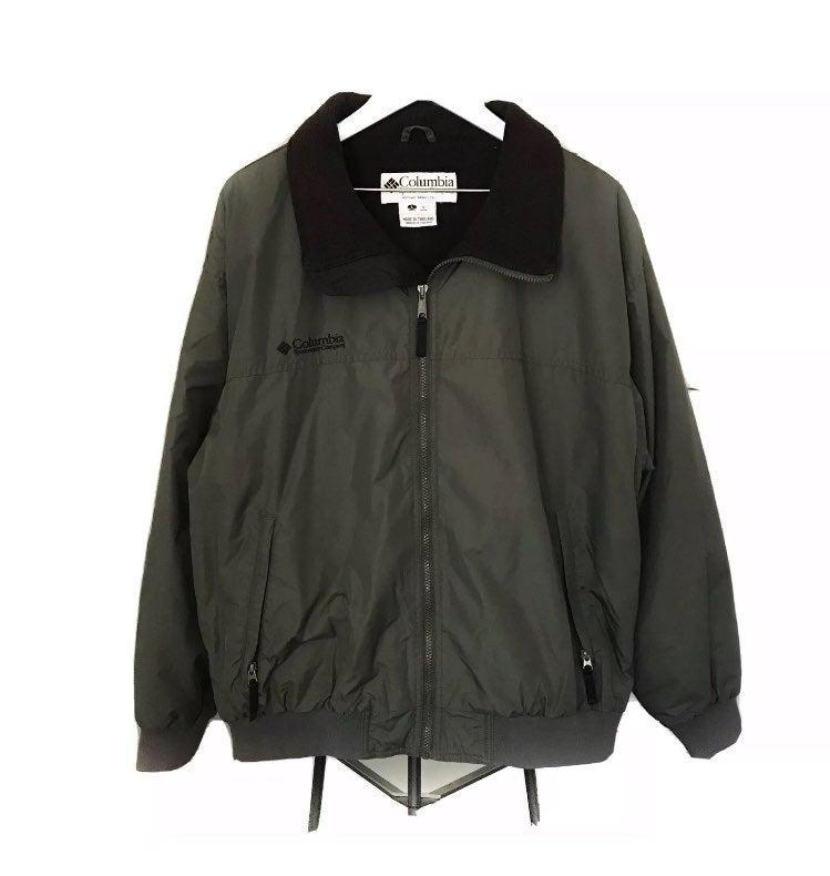 Columbia Men's Lined Fleece Jacket Large