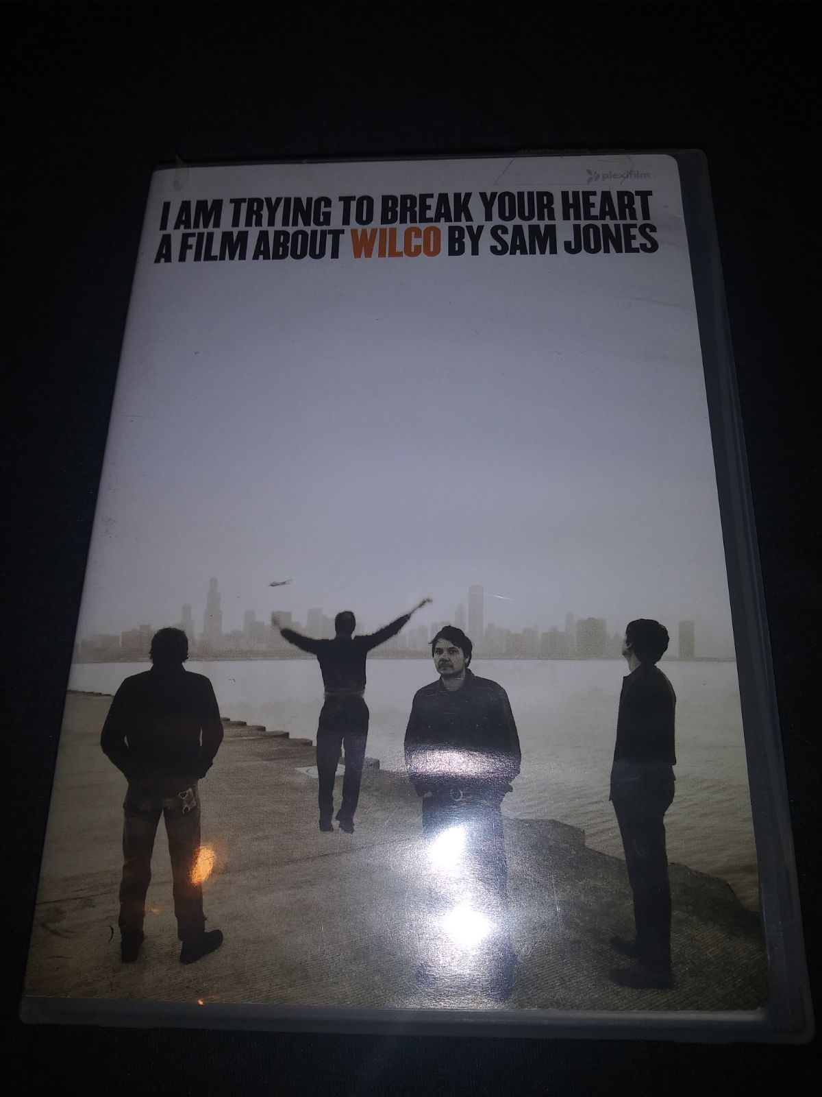 DVD i am trying to break your heart a fi