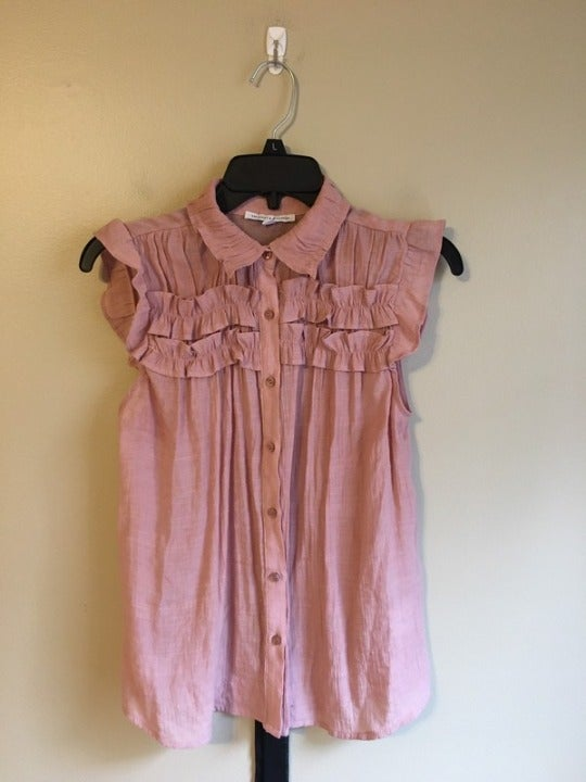 Crescent & willough small pink top