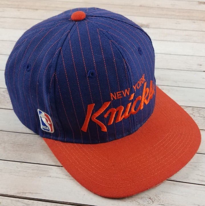Rare VTG 90s New York Knicks Script Hat