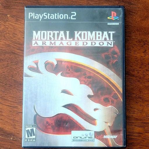 PS2 Game Mortal Kombat Armageddon