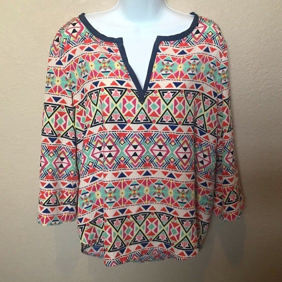 The Impeccable Pig multi colored blouse