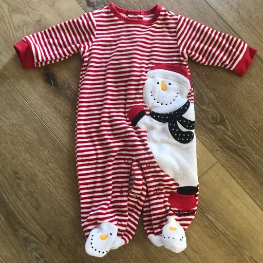 Infant Christmas sleeper size 6 months