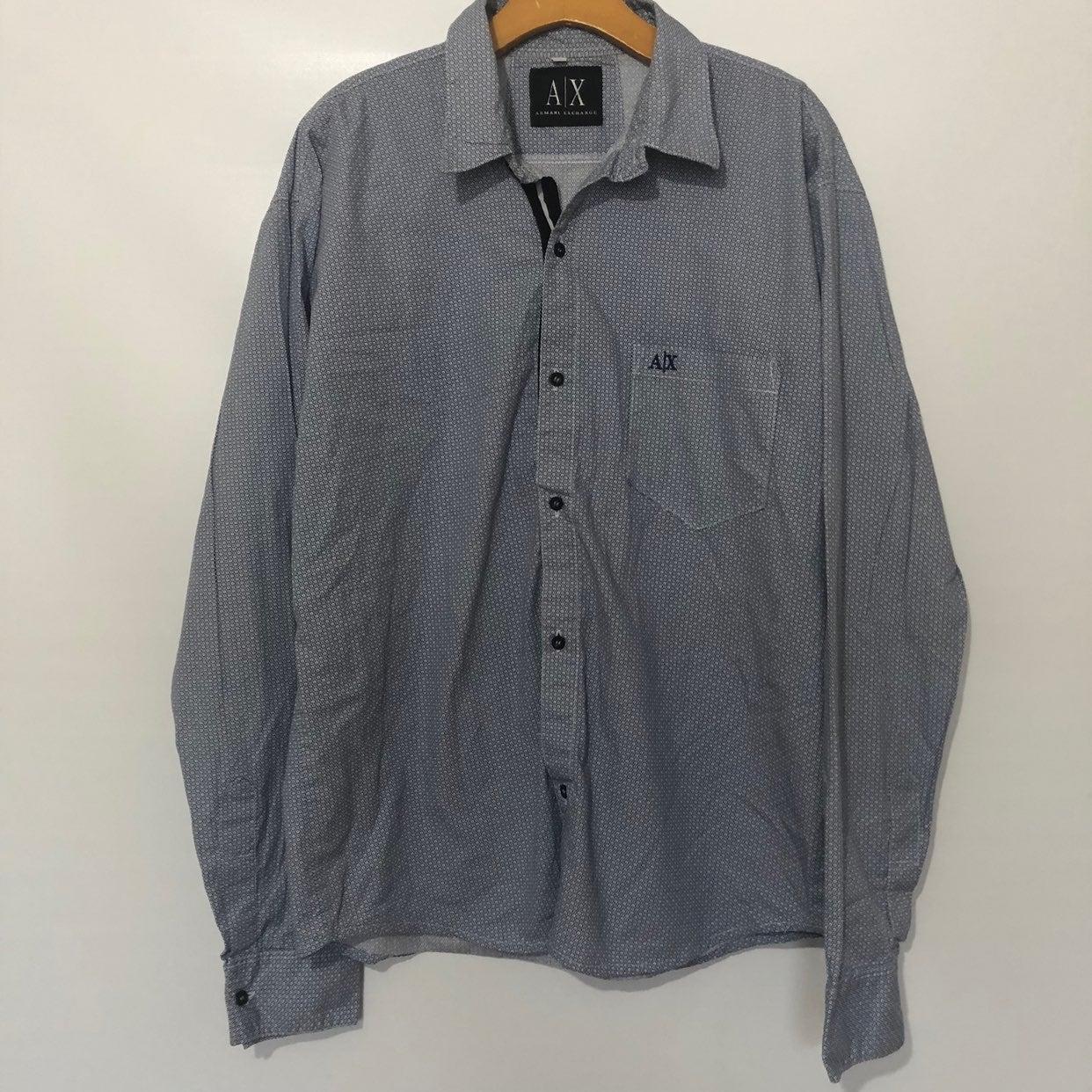 Armani Exchange Button Down Dress Shirt