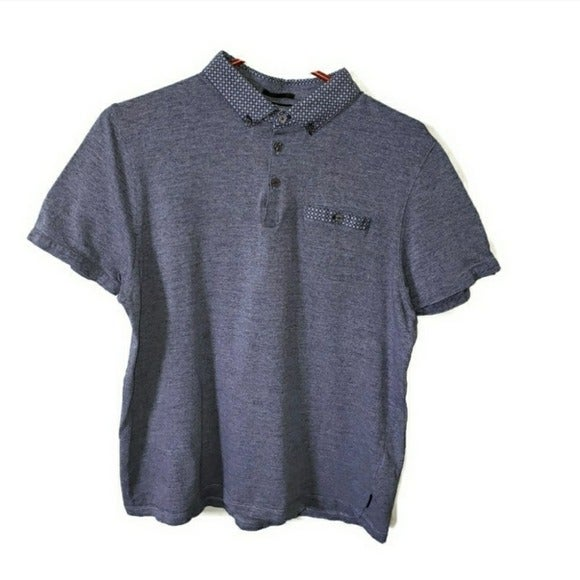 Ted Baker Mens Small Polo in blue