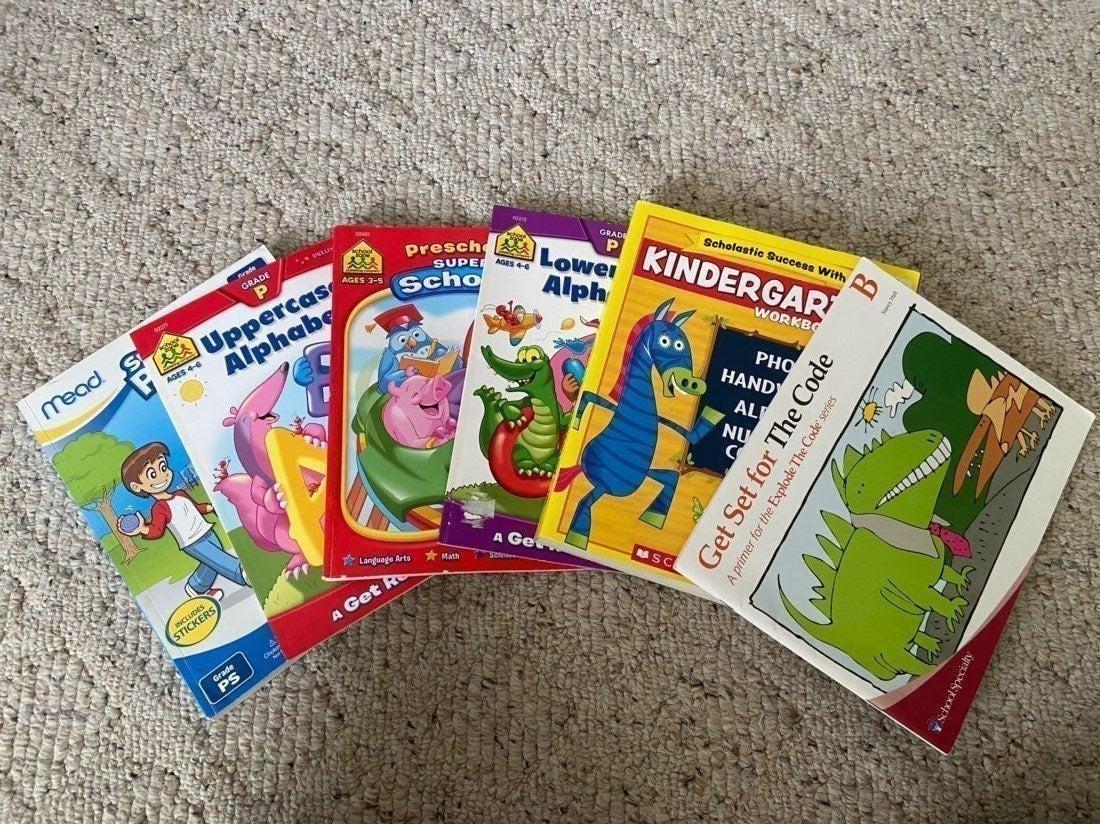 Preschool-Kindergarten Learning Books