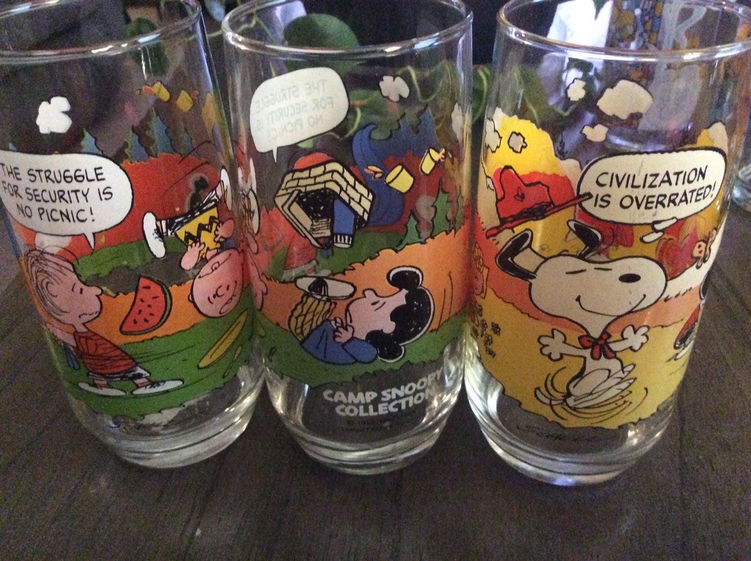 Charlie brown vintage glasses