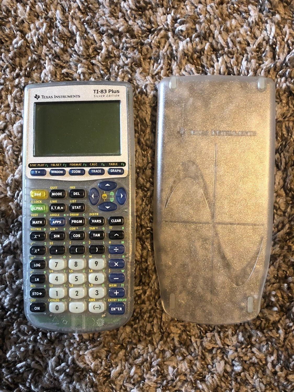 Texas Instruments TI-83 Plus Silver