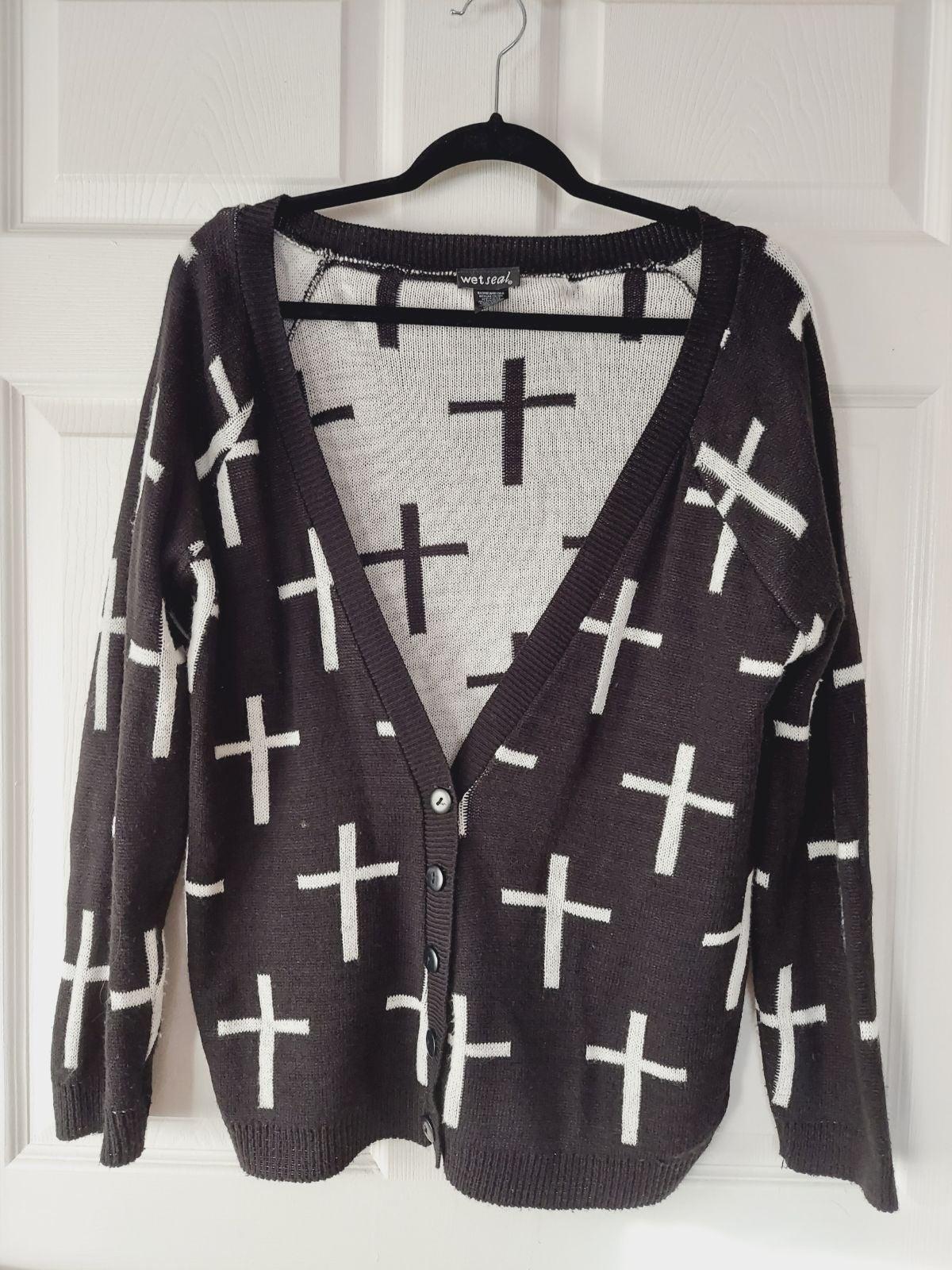 Crosses Cardigan
