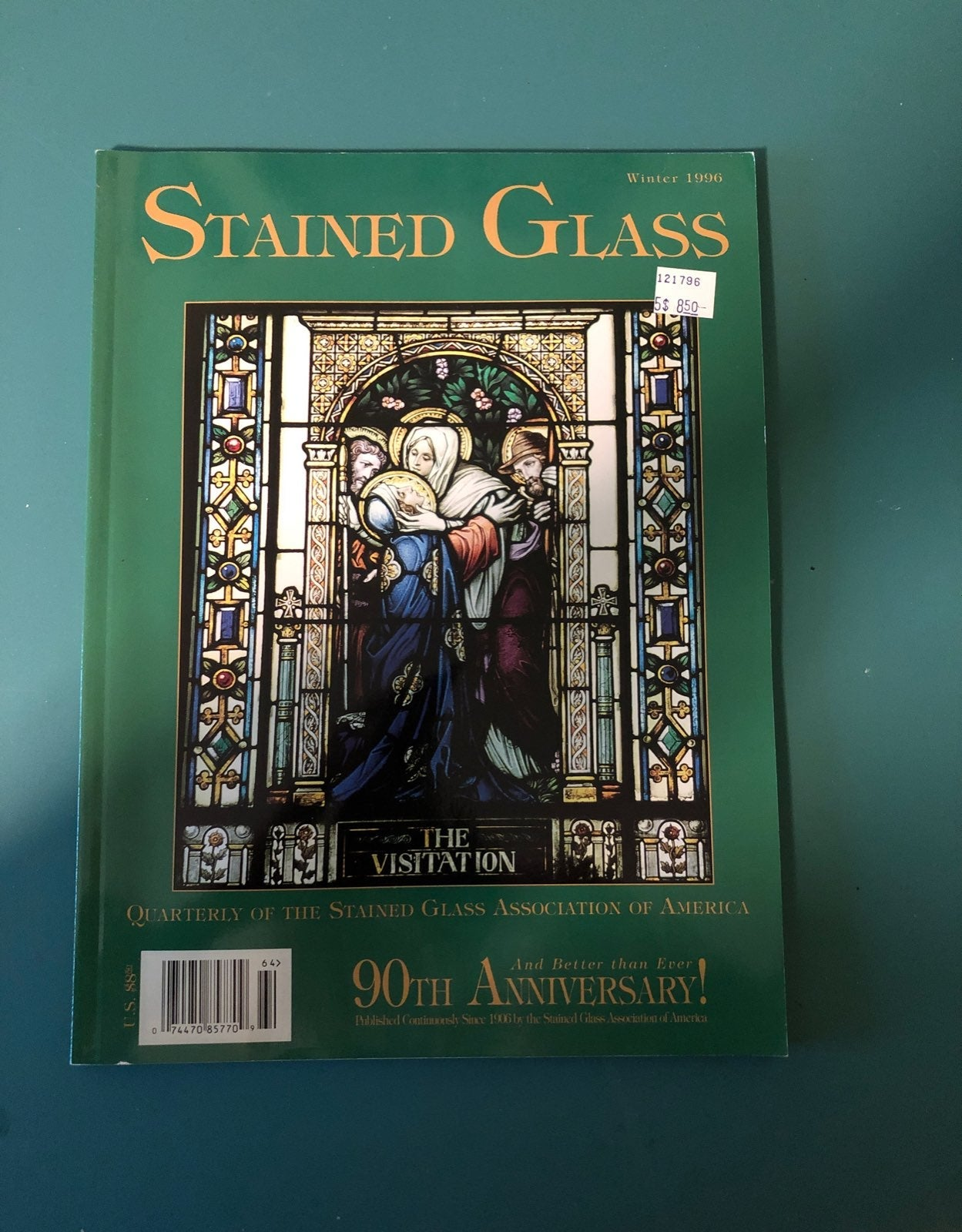 Stained Glass Quaterly Winter 1996 Editi
