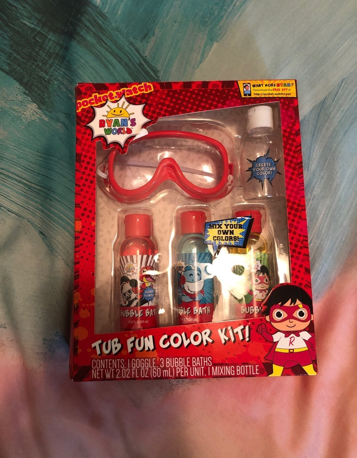 Ryan's Fun color Kit New