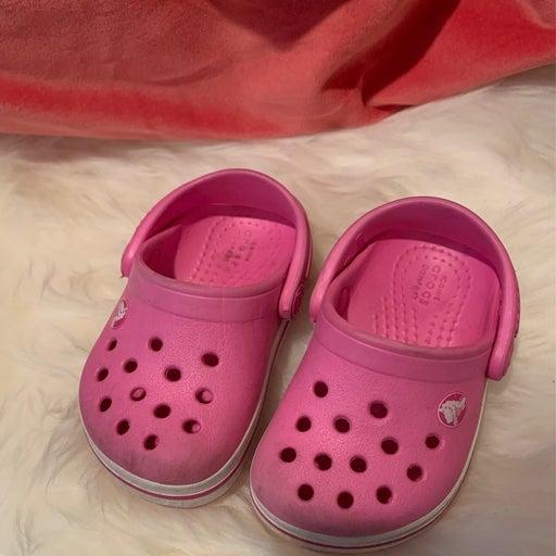 Baby Girl Crocs 4C