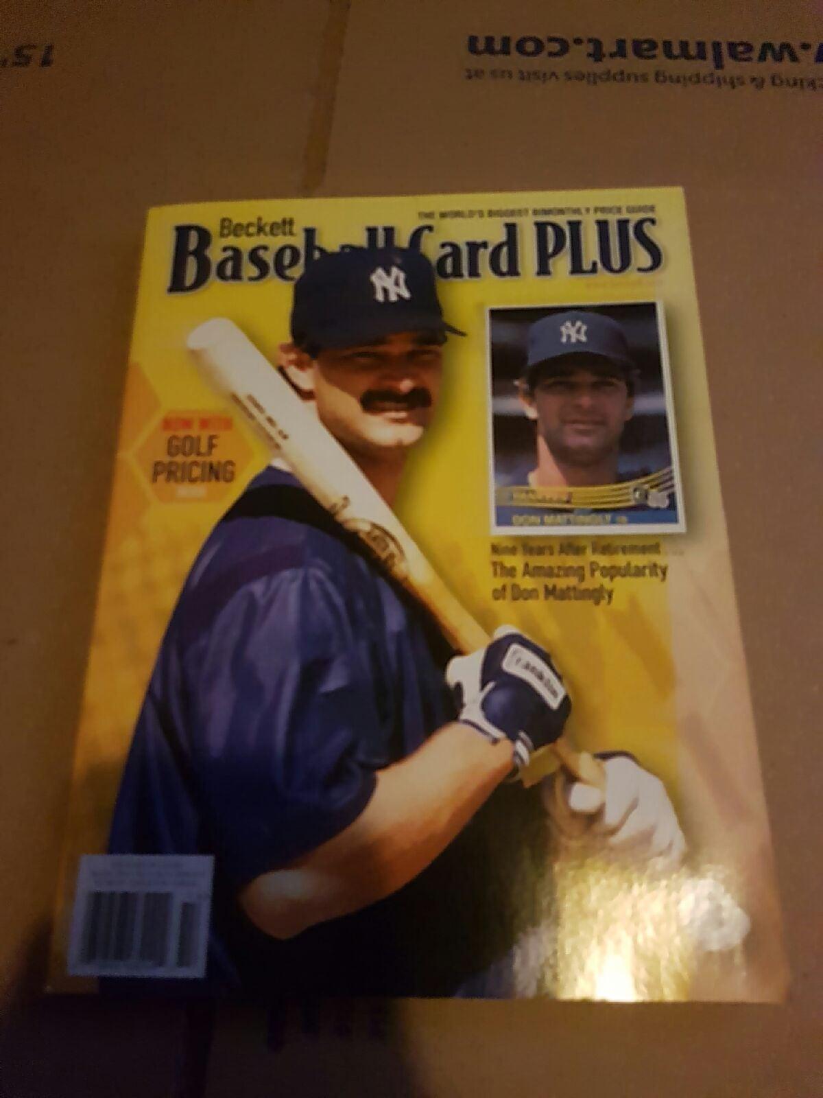 Beckett baseball card plus magazine