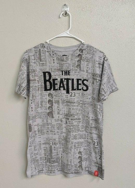 The Beatles Newsprint Licensed Apple