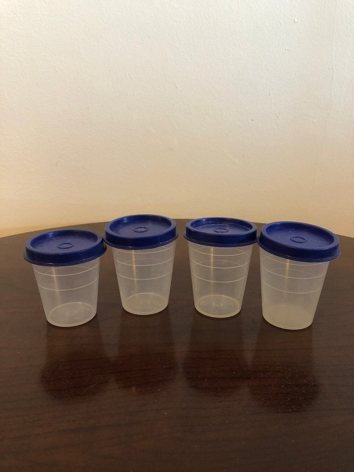 Vintage Tupperware mini containers
