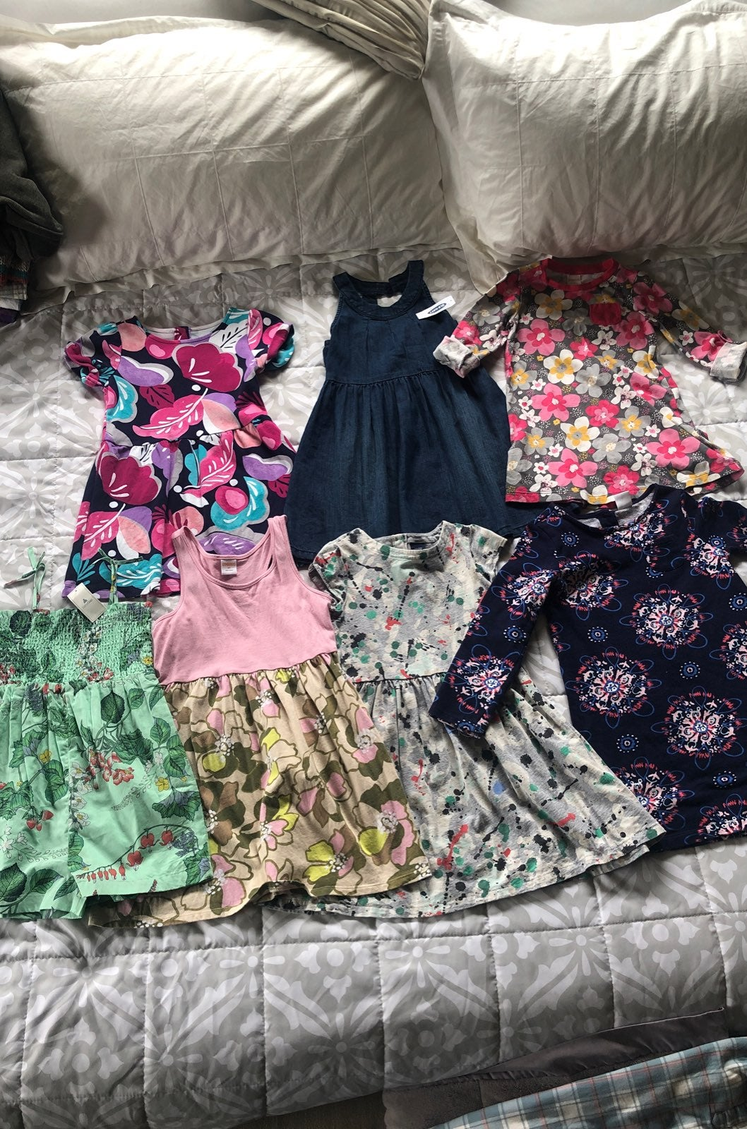 Girls size 5 dress lot