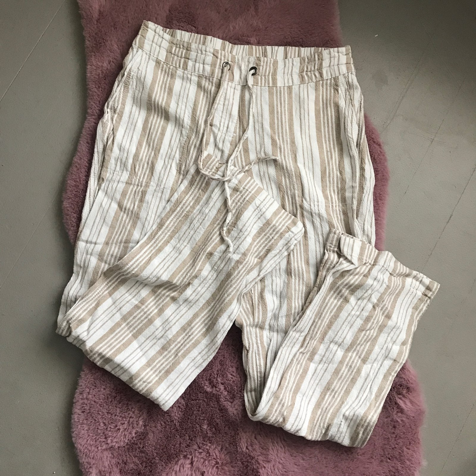 per se linen pants with pockets trendy