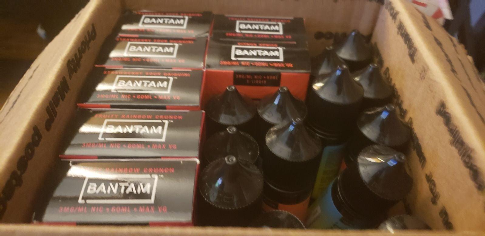 BANTAM 60 ML VAPERS